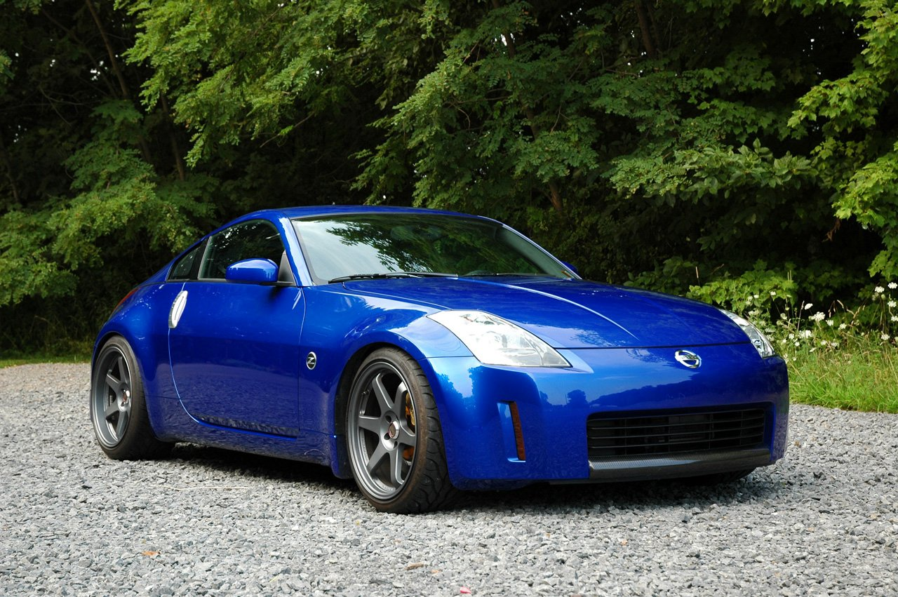 What Color Te37 Rims For Chrome Silver Z Nissan 350z