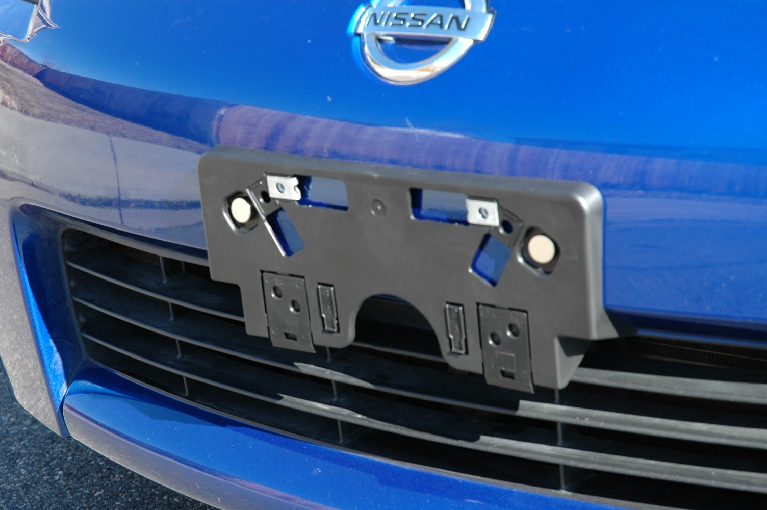 ... Click image for larger version Name DSC_0029.JPG Views 14654 Size 205.6 & Magnetic 350Z Front License Plate Mount - Nissan 350Z Forum Nissan ...