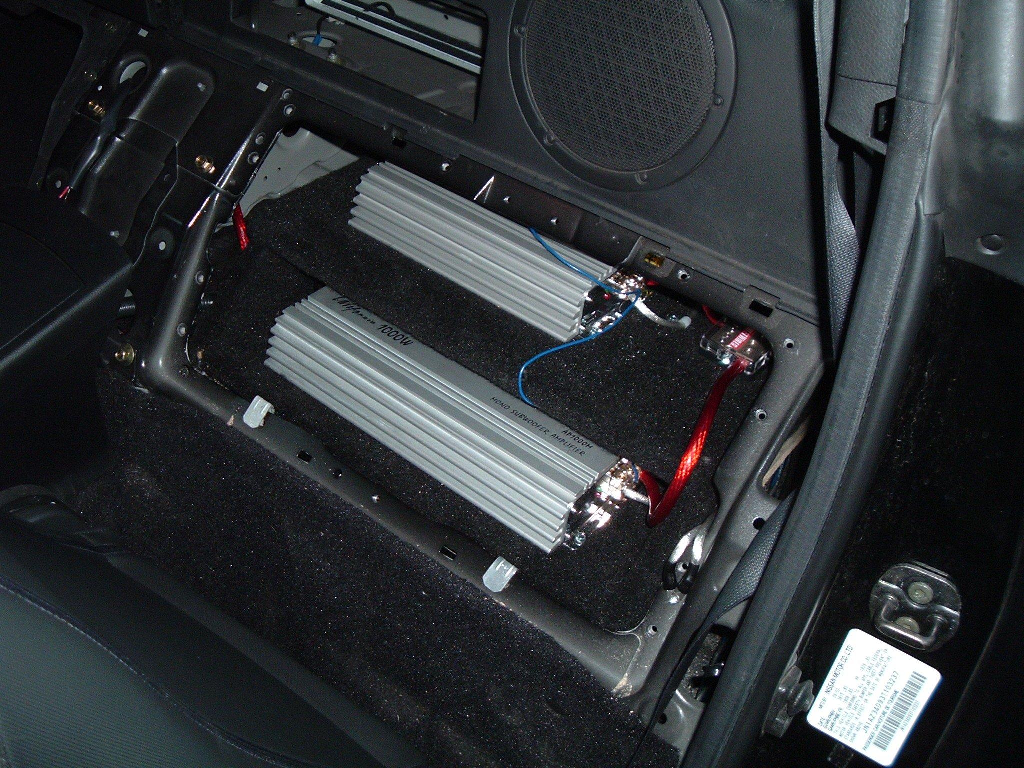 Custom Amp Mounting Rack Nissan 350z Forum Nissan 370z