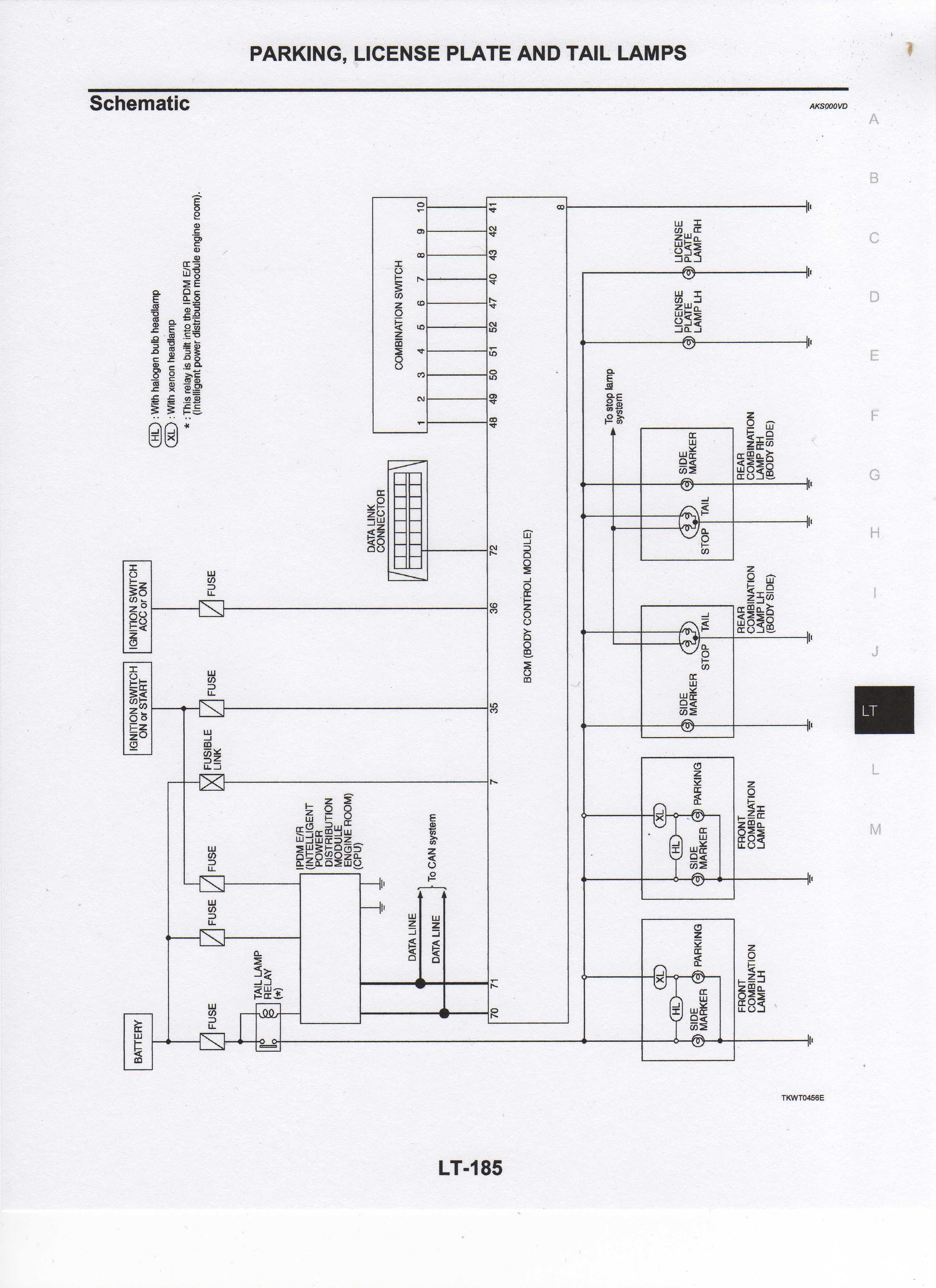 combination switch wiring diagram 2003 350z