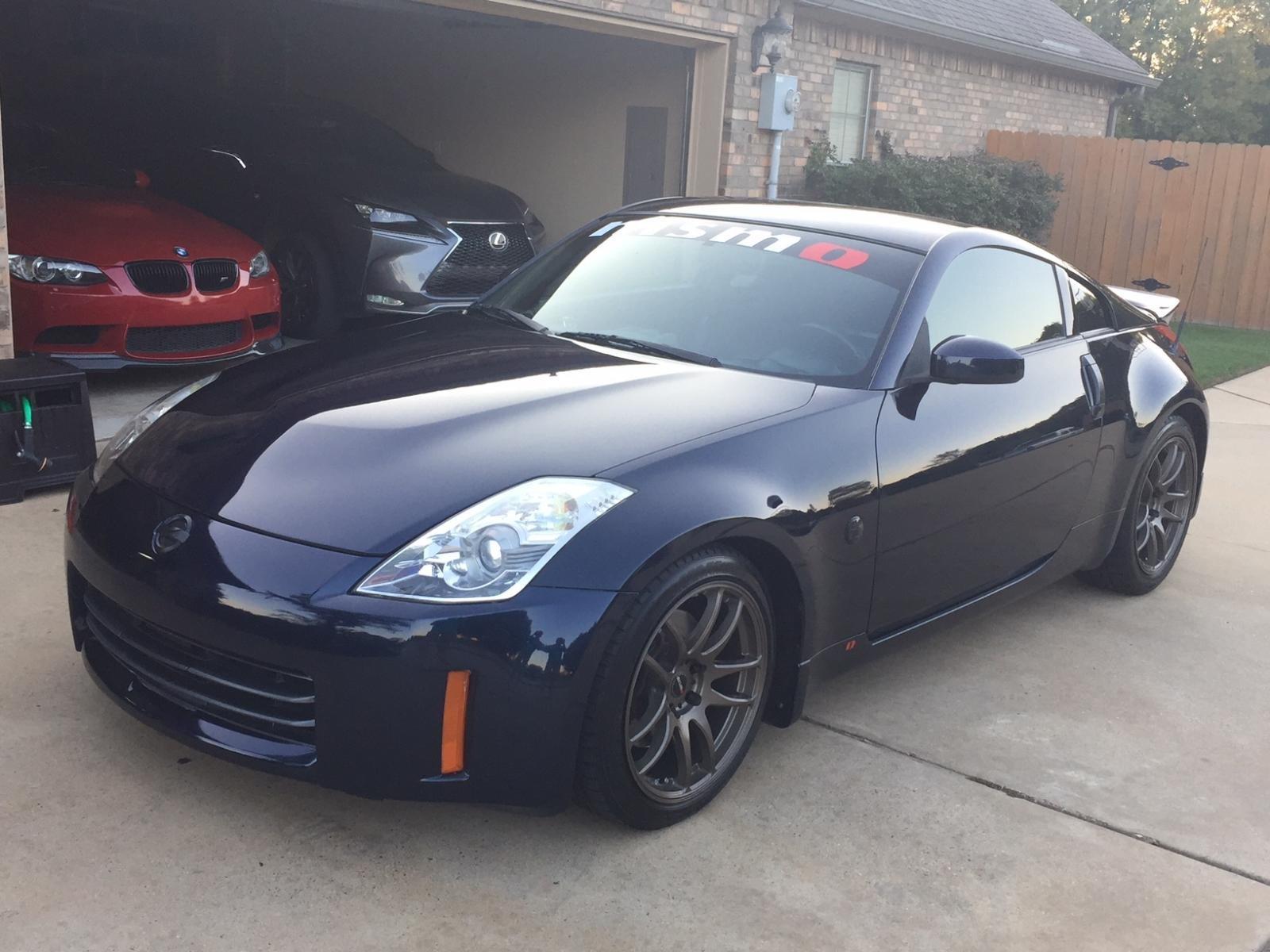 Dark Blue With Bronze Wheels Nissan 350z Forum Nissan 370z Tech