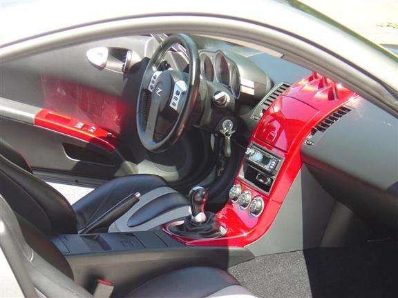 D Center Console Painted Int Custom on Nissan An Starter Location
