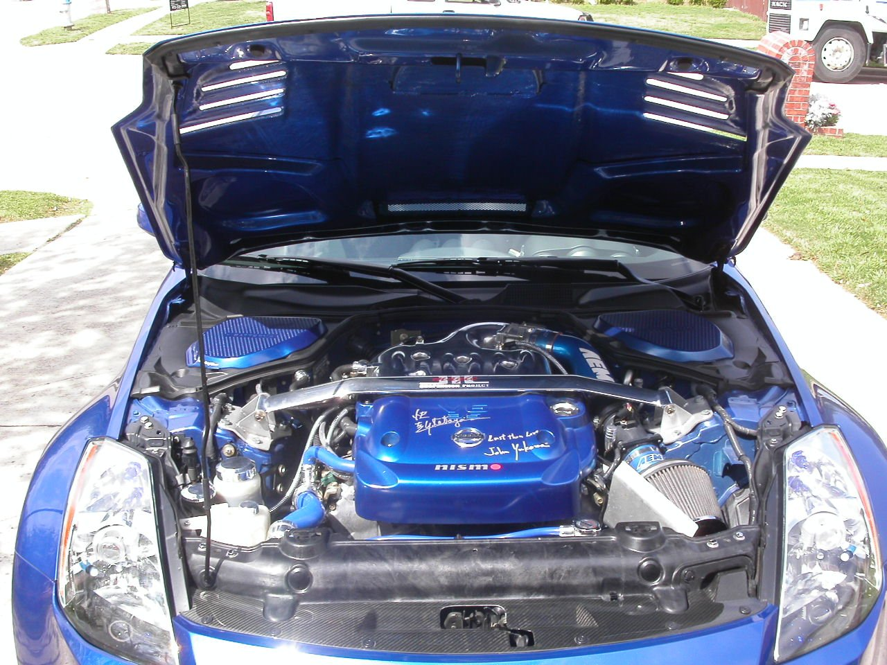 nissan 350z modified engine. click image for larger version name pict0132jpg views 6197 size 2618 nissan 350z modified engine
