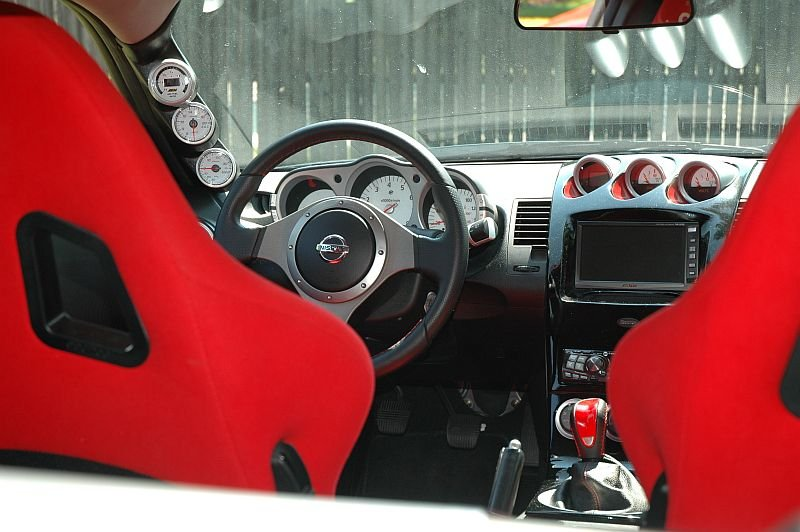 Post pics of your aftermarket gauges location - Nissan 350Z