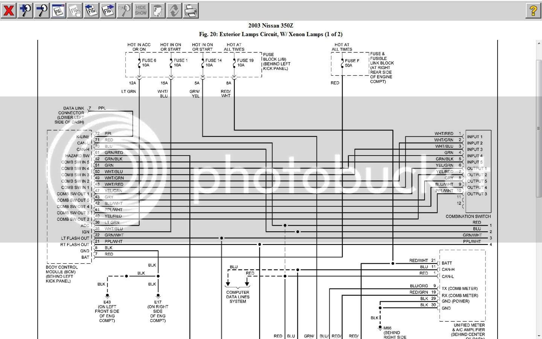 2077955 2004 Nissan 350z Headlight Wiring Diagram Schematic   Wiring LibraryWiring Library